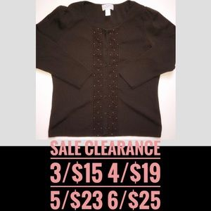 LOFT Brown Cardigan SALE CLEARANCE 3 for 15